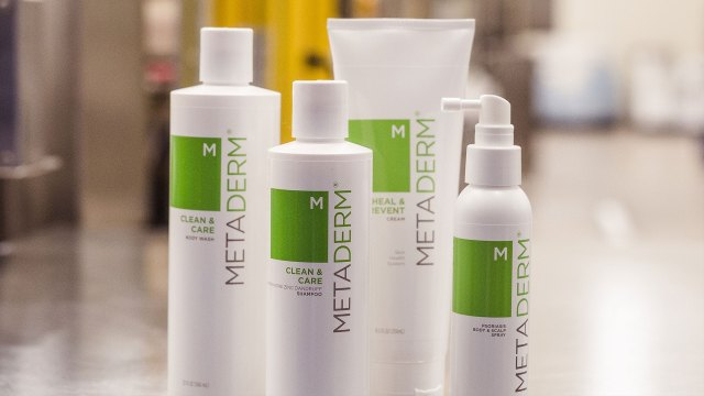 Metaderm's line of products